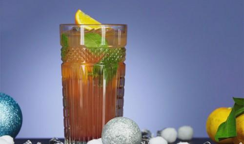 Мандариновый новогодний напиток