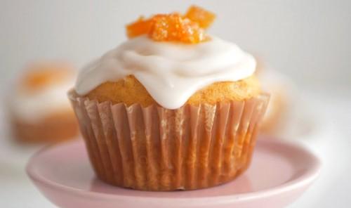 Апельсиновые кексы без яиц и молочных продуктов