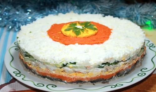 Праздничный салат «Принц»