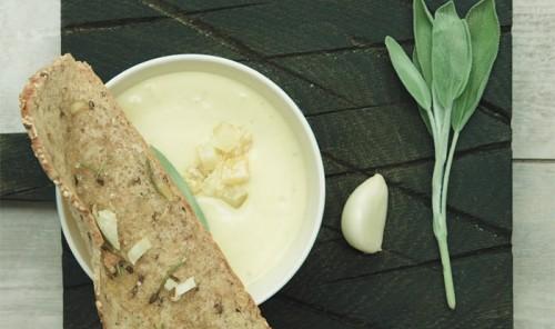 Крем-суп из тыквы и картофеля
