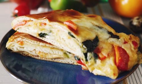 Стромболи: итальянская пицца-рулет