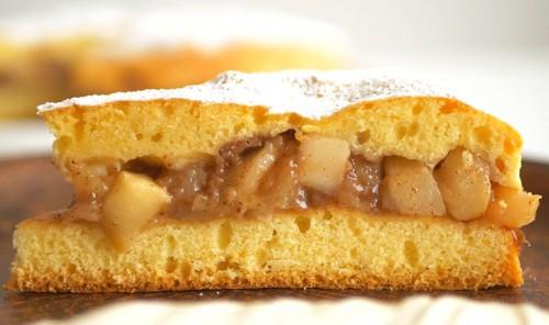 Яблочный пирог «Шарлотка по-новому»