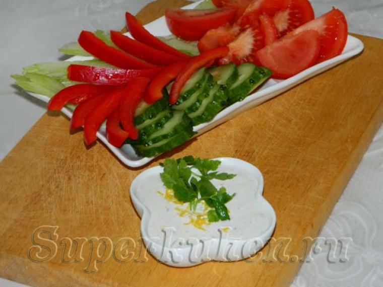 Соус из голубого сыра для бутербродов