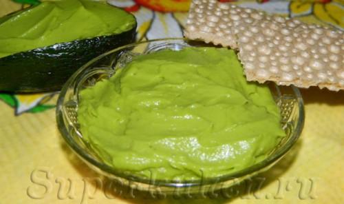 Соус гуакамоле из авокадо