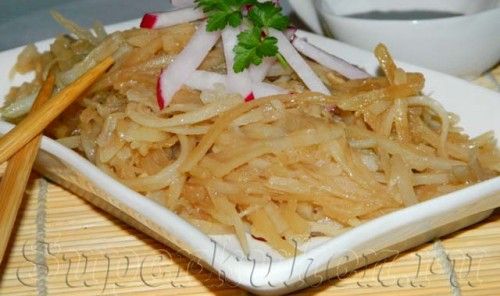 Картошка по-корейски (Корейская лапша)