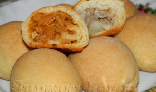 Мини-пирожки для фуршета