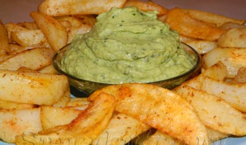 Картофель, запеченный в острых специях