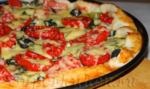 Пицца с килькой