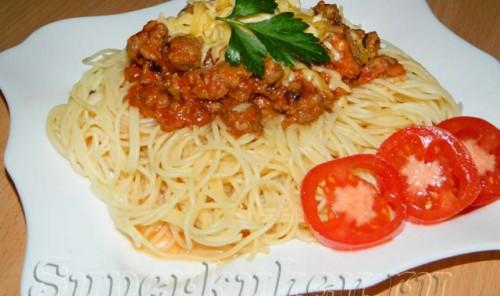 Итальянская подлива (соус) к спагетти