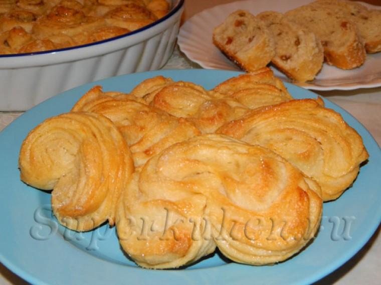 Тесто для плюшек и булочек