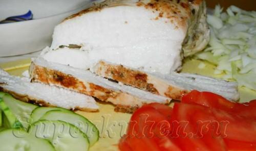 Куриная грудка для бутербродов