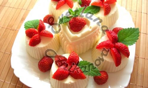 Кокосовые пирожные без выпечки